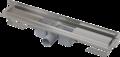 ALCAPLAST APZ4 750 podlahový žlab ke stěně pod obklad