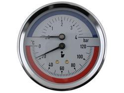 STENO Termomanometr 4 bar zadní DN 80