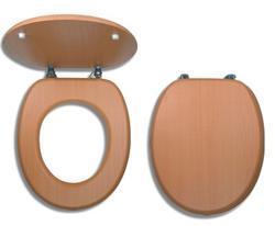 NOVASERVIS wc sedátko dýhované dřevo WC/BUK