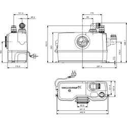 GRUNDFOS Sololift WC-1 97775314 - 2