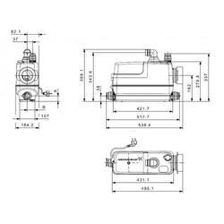 GRUNDFOS Sololift CWC-3 97775316 - 2
